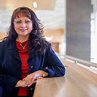 030614       Cable Hoover<br /> <br /> Jeannie Baca took over as the new Director of Student Affairs at UNM-Gallup on February 14.