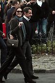 French President Nicholas Sarkozy visits New York City on March 28, 2010