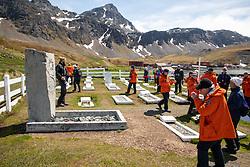Ernest Shackleton Grave, Grytviken Cemetery, Grytviken