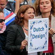 NLD/Amsterdam/20110806 - Canalpride Gaypride 2011, Marja Bijsterveldt