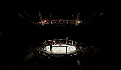 A general view of a UFC fight at The O2 Arena, London. PRESS ASSOCIATION Photo. Picture date: Saturday March 17, 2018. See PA Story UFC London. Photo credit should read: Simon Cooper/PA Wire