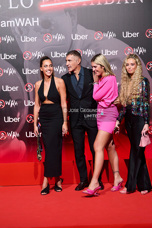 Jose Miguel Antunez attends 'Wah' Musical Show World Premiere Red Carpet at IFEMA on October 7, 2021 in Madrid, Spain