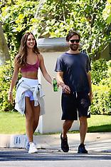 Tobey Maguire and stunning girlfriend Tatiana Dieteman enjoy a walk - 10 May 2020