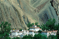 Inde - Province du Jammu Cachemire -  Ladakh - Monastère bouddhiste d'Alchi