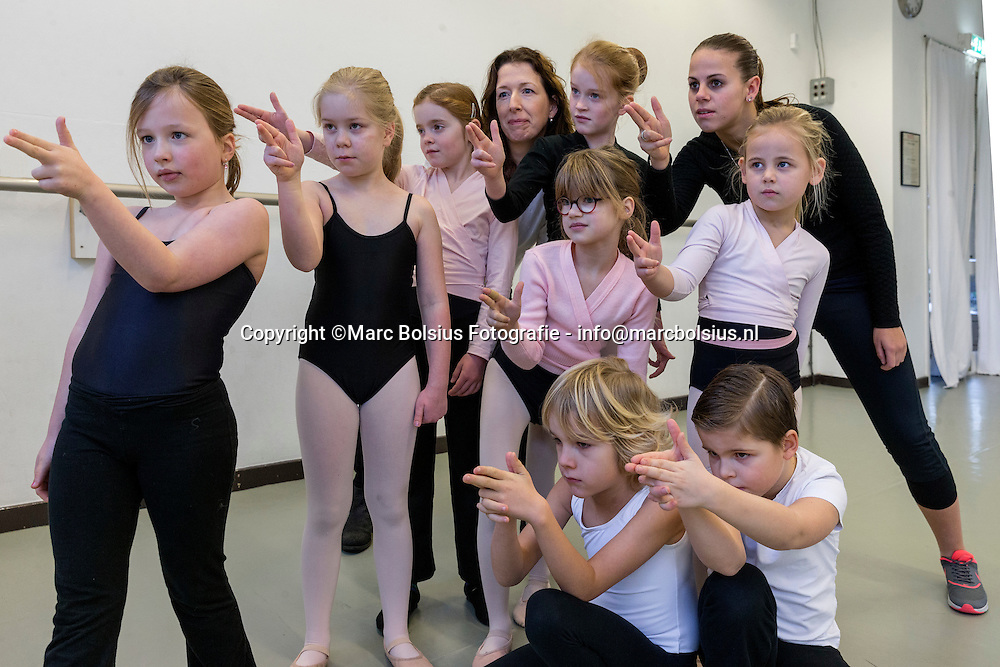 Nederland,  hintham, voor de rubriek Mijn Brabant, ballet juf Geraldine van de Griend