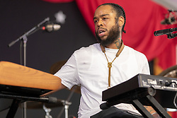 May 3, 2018 - New Orleans, Louisiana, U.S - TERRACE MARTIN during 2018 New Orleans Jazz and Heritage Festival at Race Course Fair Grounds in New Orleans, Louisiana (Credit Image: © Daniel DeSlover via ZUMA Wire)