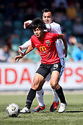 Yuya Taguchi of Canterbury United.<br /> ISPS Handa Men's Premiership football match between Canterbury United and Auckland City at English Park in Christchurch on Sunday 13 December 2020. © Copyright image by Martin Hunter / www.photosport.nz