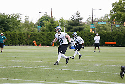Philadelphia Eagles linebacker Ryan Donohue #48 during the NFL football rookie camp at the teams practice facility on Saturday, May 17, 2014. (Photo by Brian Garfinkel)