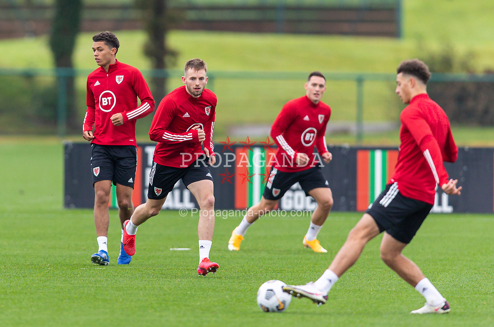 CARDIFF, WALES - Monday, October 5, 2020: Wales' Rhys Norrington-Davies during a training session at the Vale Resort ahead of the International Friendly match against England. (Pic by David Rawcliffe/Propaganda)