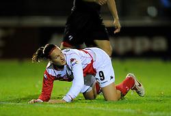 12-11-2009 VOETBAL: FC UTRECHT -AZ VROUWEN: UTRECHT<br /> Utrecht verliest met 1-0 van AZ / Lisanne Vermeulen<br /> ©2009-WWW.FOTOHOOGENDOORN.NL