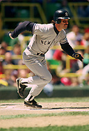CHICAGO - 1987:  Don Mattingly of the New York Yankees bats during an MLB game versus the Chicago White Sox during the 1987 season at Comiskey Park in Chicago, Illinois. (Photo by Ron Vesely) Subject:   Don Mattingly