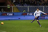gol rigore Josip Ilicic Fiorentina Goal penalty <br /> Genova 08-11-2015 Stadio Marassi Football Calcio Serie A 2015/2016 Sampdoria - Fiorentina <br /> foto Daniele Buffa/Image Sport/Insidefoto