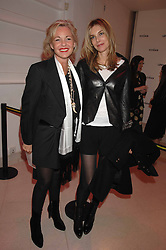 Left to right, AMANDA ELIASCH and KIM HERSOV at the Art Plus Drama party Held at the Whitechapel Art Gallery, London E1 on 8th March 2007. <br /><br />NON EXCLUSIVE - WORLD RIGHTS