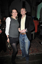 THOMASINA MIERS and MARK WILLIAMS at a party to celebrate the launch of the CLub Monaco brand at Browns held at the Royal Academy of Art, Piccadilly, London on 19th February 2011.