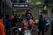 Tom Vialle, son of Frédéric Vialle who won several GPs in the late 1990's, is the latest KTM small bore rider adapting quickly to the MX2 class. 3-4 for third overall in England in his second ever GP.