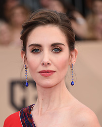 24th Annual Screen Actors Guild Awards held at the Shrine Exposition Center. 21 Jan 2018 Pictured: Alison Brie. Photo credit: OConnor-Arroyo / AFF-USA.com / MEGA TheMegaAgency.com +1 888 505 6342
