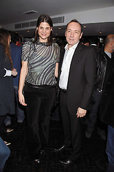 KATRINA PAVLOS and KEVIN SPACEY at the Grand Classic screening of The Apartment held at The Electric Cinema, 191 Portobello Road, London on 16th March 2008.<br />