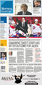 February 25, 2021 (CANADA): Front-page: Today's Newspapers In Canada