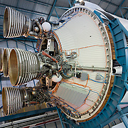 Saturn V Second Stage J-2 Engines