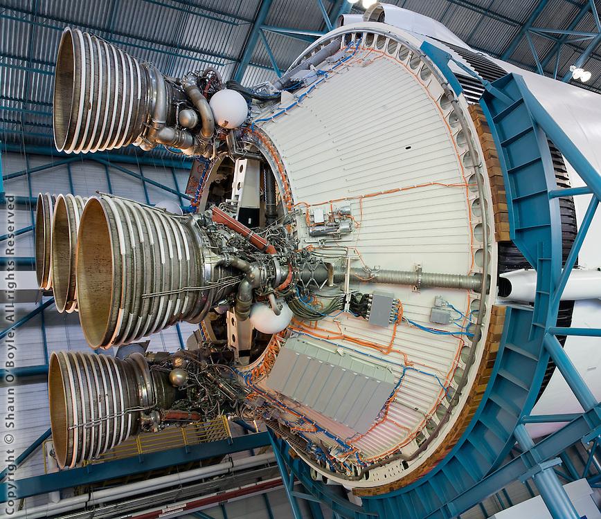 Saturn V Second Stage J-2 Engines