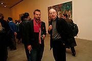 JUERGER TELLER AND JOHN SMITH, New work by Cecily Brown. Gagosian. Brittania St. London. 31 March 2006. ONE TIME USE ONLY - DO NOT ARCHIVE  © Copyright Photograph by Dafydd Jones 66 Stockwell Park Rd. London SW9 0DA Tel 020 7733 0108 www.dafjones.com