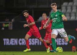 Jakob Bonde (Viborg FF) under kampen i 1. Division mellem Viborg FF og FC Helsingør den 30. oktober 2020 på Energi Viborg Arena (Foto: Claus Birch).