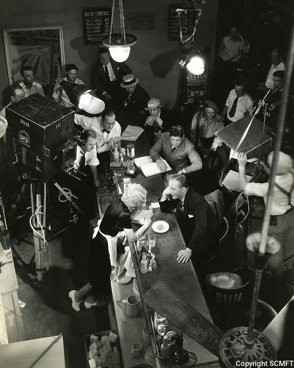 1933 Filming Bing Crosby at Paramount Studios