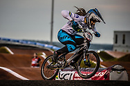 #78 (REIS SANTOS Paola) BRA [Supercross, Faith] at Round 7 of the 2019 UCI BMX Supercross World Cup in Rock Hill, USA