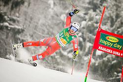 Bjoernar Neteland of Norway during 2nd run of Men's Giant Slalom race of FIS Alpine Ski World Cup 57th Vitranc Cup 2018, on March 3, 2018 in Podkoren, Kranjska Gora, Slovenia. Photo by Ziga Zupan / Sportida