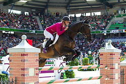 Sanna Siltakorpi, (FIN), Lucky Accord - Jumping Eventing - Alltech FEI World Equestrian Games™ 2014 - Normandy, France.<br /> © Hippo Foto Team - Leanjo De Koster<br /> 31-08-14