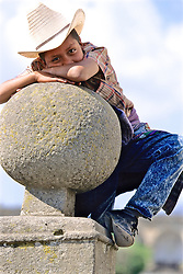 Young Boy With Hat