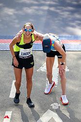 Des Linden, Kellyn Taylor<br /> TCS New York City Marathon 2019