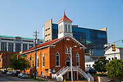 The Dexter avenue King Memorial Baptist church, where Martin Luther King Jr. worked, Montgomery, AL, USA