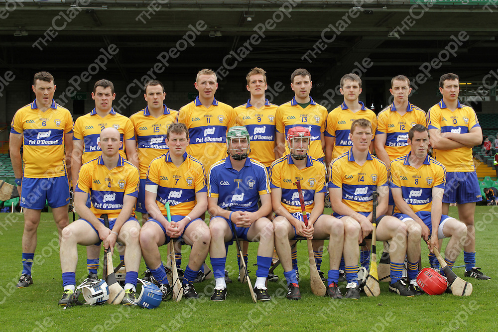 Clare Intermediate team which defeated Cork in the Munster Intermediate semi final.<br /> Photograph by Flann Howard