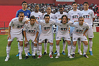 20091028: CUTIRIBA, BRAZIL - Atletico-PR vs Santos: Brazilian League 2009. In picture: Santos team. PHOTO: CITYFILES