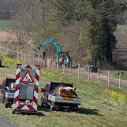 08-04-2020: Nieuws: Stockfotos: Nederland<br />werk aan de weg;