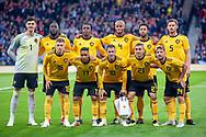 Belgium before the International Friendly match between Scotland and Belgium at Hampden Park, Glasgow, United Kingdom on 7 September 2018.