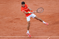 May 30, 2019 - Paris, France - Novak Djokovic (SRB) in action during the French Open Tennis at Stade Roland-Garros, Paris on Thursday 30th May 2019. (Credit Image: © Mi News/NurPhoto via ZUMA Press)