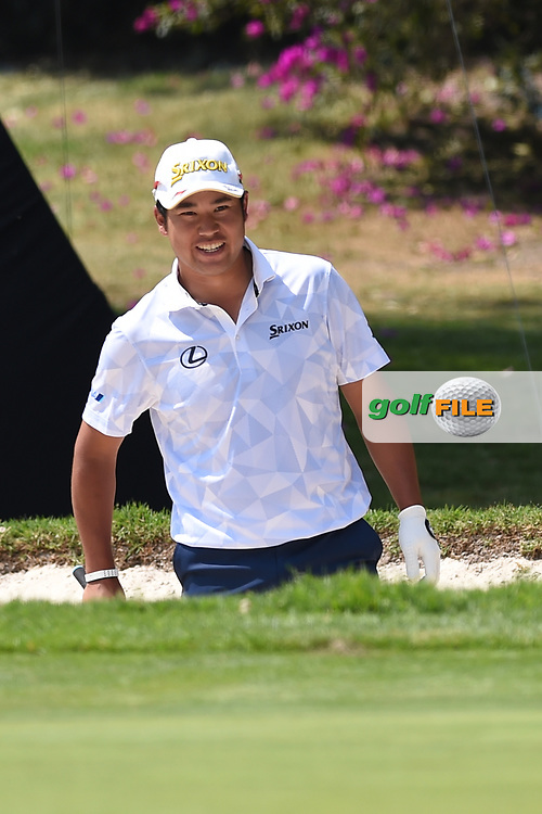 Hideki Matsuyama (JPN) during Rd4 of the World Golf Championships, Mexico, Club De Golf Chapultepec, Mexico City, Mexico. 2/23/2020.<br /> Picture: Golffile | Ken Murray<br /> <br /> <br /> All photo usage must carry mandatory copyright credit (© Golffile | Ken Murray)