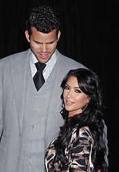 Photo by: RE/Westcom/starmaxinc.com©2011ALL RIGHTS RESERVEDTelephone/Fax: (212) 995-11968/17/11Kim Kardashian and Kris Humphries at the launch of the Kardashian Kollection.(Hollywood, CA)