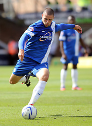 Peterborough United's Michael Bostwick - Photo mandatory by-line: Joe Dent/JMP - Tel: Mobile: 07966 386802 03/08/2013 - SPORT - FOOTBALL -  London Road Stadium - Peterborough -  Peterborough United v Swindon Town - Sky Bet One