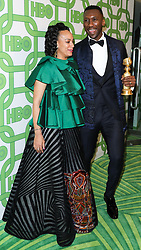 HBO's Official Golden Globe Awards After Party 2019 held at The Beverly Hilton Hotel on January 6, 2019 in Beverly Hills, Los Angeles, California, United States. 06 Jan 2019 Pictured: Amatus Sami-Karim, Mahershala Ali. Photo credit: David Acosta/Image Press Agency / MEGA TheMegaAgency.com +1 888 505 6342