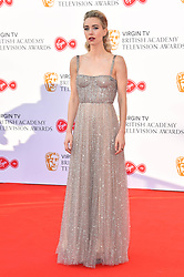 Vanessa Kirby attending the Virgin TV British Academy Television Awards 2018 held at the Royal Festival Hall, Southbank Centre, London.
