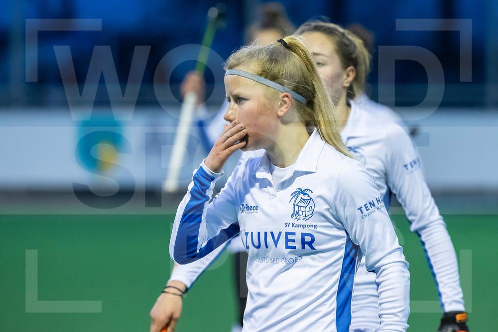 Laren, Hoofdklasse Hockey Dames, Seizoen 2020-2021, 15-04-2021, Laren - Kampong 2-1, Gabrielle Mosch (Kampong)<br /><br /> COPYRIGHT WORLDSPORTPICS WILLEM VERNES