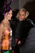 LIBERTY ROSS; MARY J. BLIGE;  Isabella Blow: Fashion Galore! private view, Somerset House. London. 19 November 2013