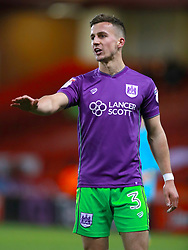 """Bristol City's Joe Bryan during the Sky Bet Championship match at Bramall Lane, Sheffield. PRESS ASSOCIATION Photo. Picture date: Friday December 8, 2017. See PA story SOCCER Sheff Utd. Photo credit should read: Mike Egerton/PA Wire. RESTRICTIONS: EDITORIAL USE ONLY No use with unauthorised audio, video, data, fixture lists, club/league logos or """"live"""" services. Online in-match use limited to 75 images, no video emulation. No use in betting, games or single club/league/player publications."""