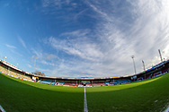 A general view inside Glanford Park before the EFL Sky Bet League 1 match between Scunthorpe United and Wycombe Wanderers at Glanford Park, Scunthorpe, England on 29 December 2018.