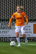 Megan Foley (#23) of Glasgow City FC during the Scottish Building Society Womens Premier League match between Glasgow City Women and Rangers Women at Broadwood Stadium, Glasgow, Scotland on 13 December 2020.