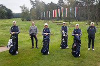 HILVERSUM -  TEAM BELGIUM/BELGIE . ELTK Golf  2020 The Dutch Golf Federation (NGF), The European Golf Federation (EGA) and the Hilversumsche Golf Club will organize Team European Championships for men.  COPYRIGHT KOEN SUYK