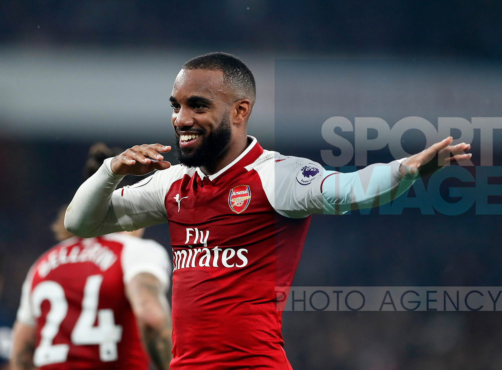 Arsenal's West Brom's during the premier league match at the Emirates Stadium, London. Picture date 25th September 2017. Picture credit should read: David Klein/Sportimage